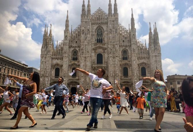 FlashMob-Milano2014