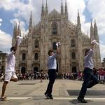 FlashMob Marinera en Milano